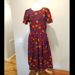 LuLaRoe Amelia Dress NWOT size Large